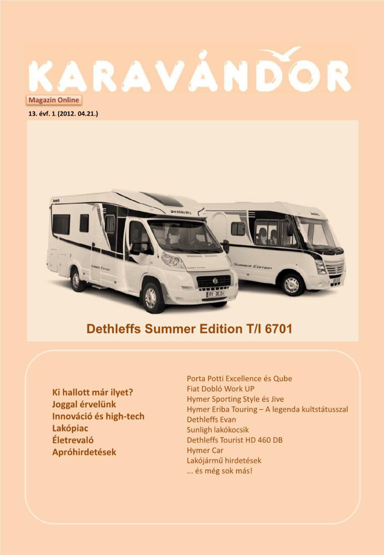 Karavándor magazin 2012. Tavasz