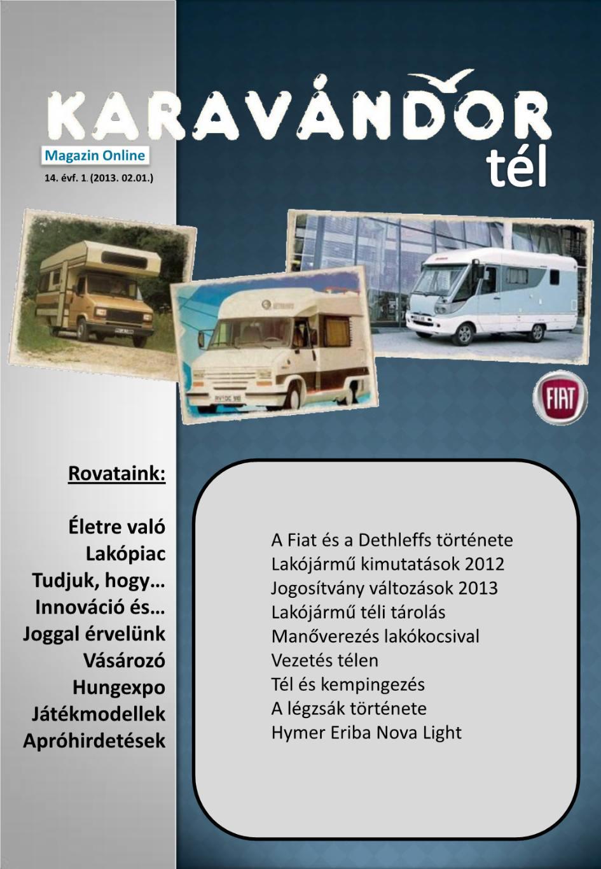 Karavándor magazin 2012. Tél