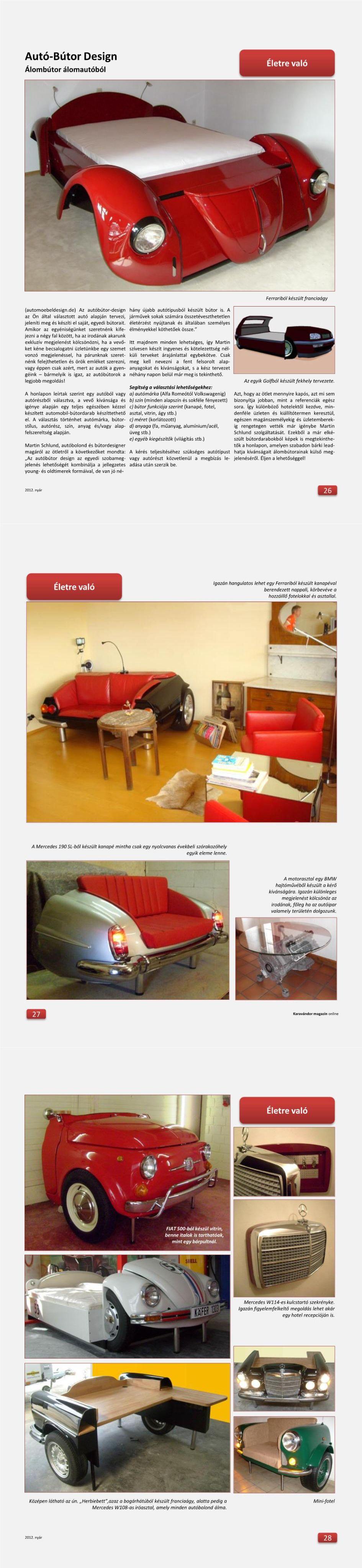 Életre való - Autó-Bútor Design