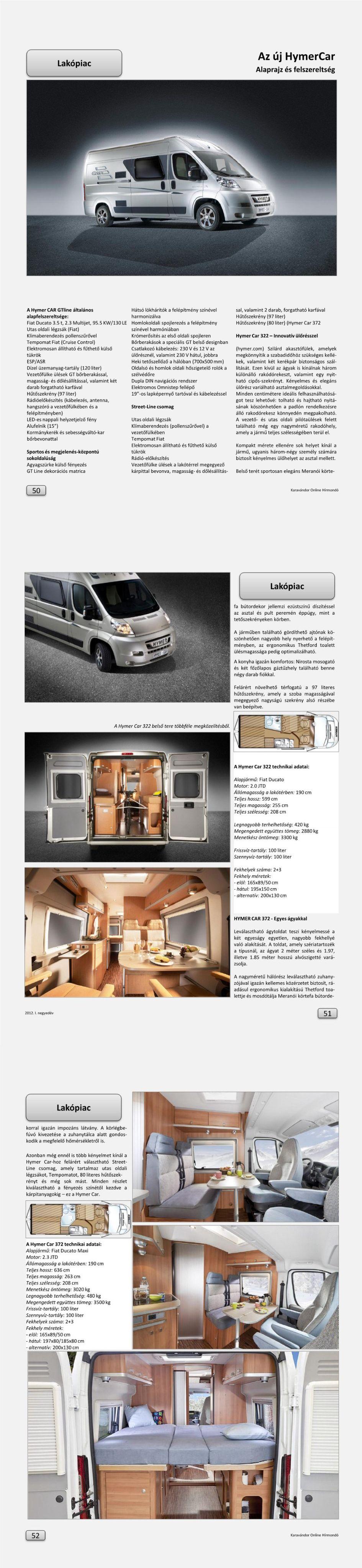 Lakópiac - Az új HymerCar