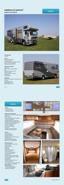 Lakópiac  - Bocklet Ando 945 HG