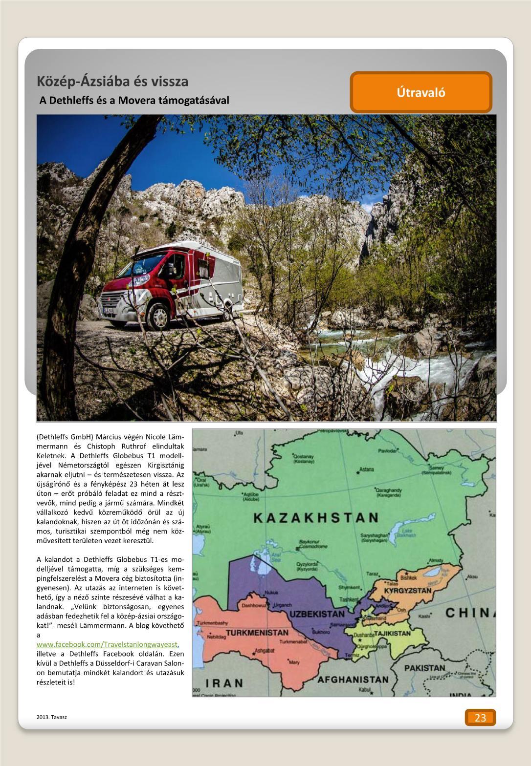 Útravaló - Közép Ázsiába és vissza